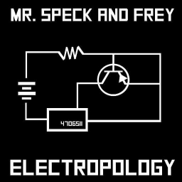Cover of track Electropology by A Speck of this Freyed Universe