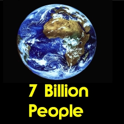 Cover of track 7 Billion People by Dazzriff