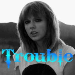 Cover of track Trouble By Taylor Swift (A Ghost of Forever Remix) by A Ghost of Forever