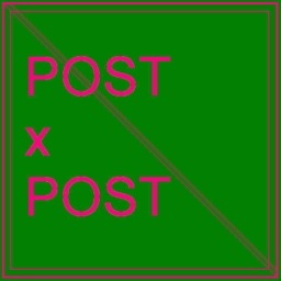 Cover of track POST x POST by MGxKRT