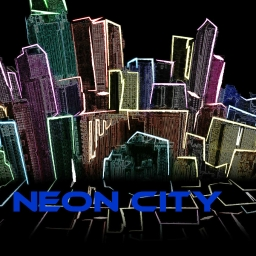 Cover of track Neon City by [xero]