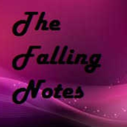 Cover of track the falling notes by Polin Azimi