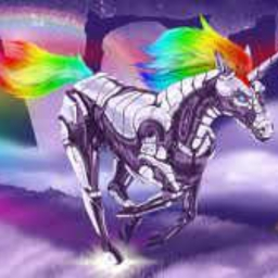 Cover of track Robot Unicorn by OHEMGEH