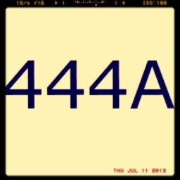 Avatar of user 444A