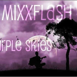 Cover of track Purple Skies (feat. Korona) by Mixxflash