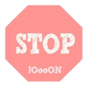 "Cover of album JOooON 1ST Mini Album ""STOP"" by JOooON"