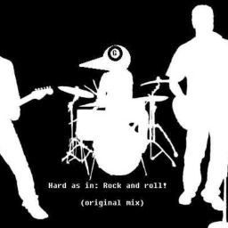 Cover of track Hard as in: Rock and roll! (original mix) by Goldfinch