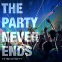 Cover of track The Party Never Ends by patdiele