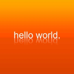 Cover of track Hello world by Sharrjin