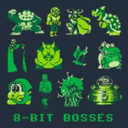 Cover of track 8 Bit BOSSES by Frozenskull