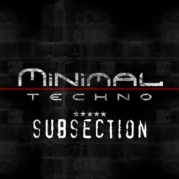Cover of album minimal deep house by subsection