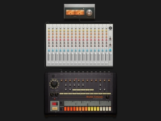 Cover of track Drum Machine by John Flynn