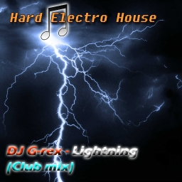 Cover of track Lightning (Electro House) by DJ G-rex