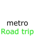 Cover of track Road Trip by metro