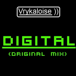 Cover of track Vrykaloise - Digital by DJ Vry