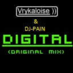 Cover of track Vrykaloise & DJ-PAIN - Digital by DJ-PAIN