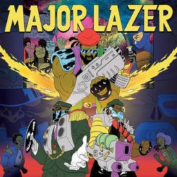 Cover of track Major Lazer Be Like... by h e n t a i