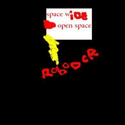 Cover of track space wide open space by robodcr
