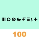 Cover of album Moogfest 2014 - Top 100 by audiotool