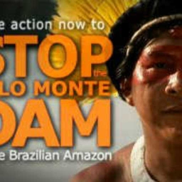 Cover of track Stand Up Against Belo Monte Dam by sebastian saldaño