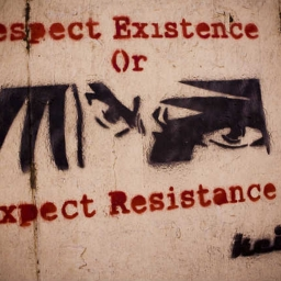Cover of track Respect Existence or Expect Resistance by soniktruth