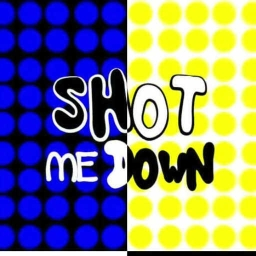 Cover of track no vocals (shot me down) by KDEC-CORBY
