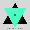 Cover of album Geometric North EP by Blu-Cell