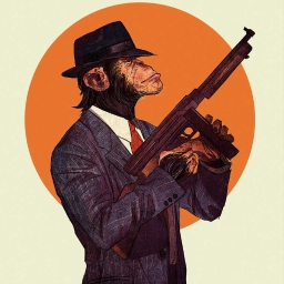 Cover of track Monkey-Style prod - Gun by Maxim  Hrebtov