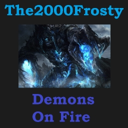 Cover of track Demons on Fire by Frosty
