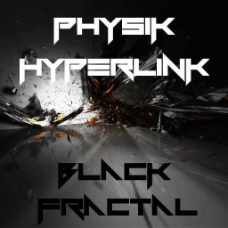Cover of track PhysiK & Hyperlink - Black Fractal by known