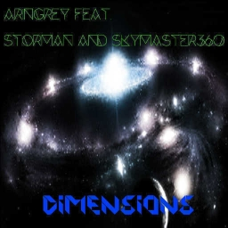 Cover of track Dimensions (feat. Storman And SkyMaster360) by Aringrey