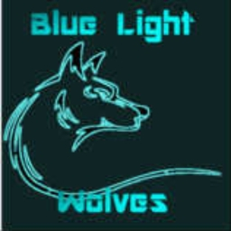 Cover of track blue light wolves by LOLZFACE