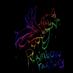 Cover of track Rainbow Factory remix (Halloween Specail) by XculE