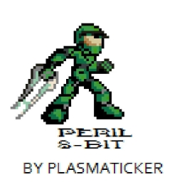 Cover of track Halo 2 OST: Peril 8-Bit by Plasmaticker