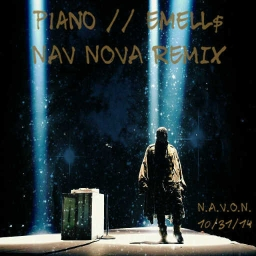 Cover of track Piano // Emell$ (NAV NOVA REMIX) by bello