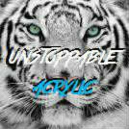 Cover of track Unstoppable by Acrylic