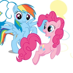 Cover of track RainbowDash'N'PinkiePie! by DeFy_RainbowDashDub