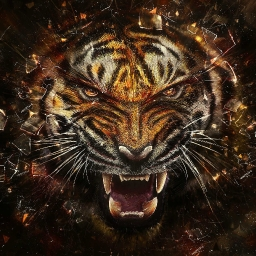 Cover of track angry tiger by felixbeats