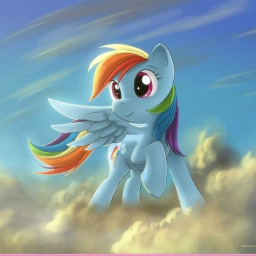 Cover of track Soarin' Through The Clouds. by Rainbow-Dash