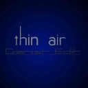 Cover of track Thin air [Gianist Edit] by plaz