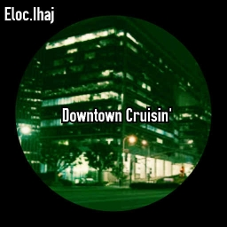 Cover of track Downtown Cruisin' by Jahi Sharif