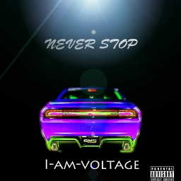 Cover of track never stop by whize