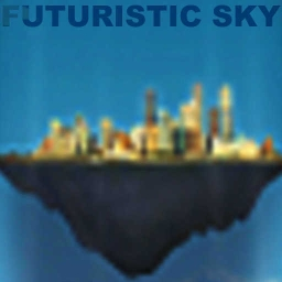 Cover of track Futuristic Sky by Derrenno