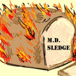 Cover of track Courage The Cowardly Dog -Credits- (MD SLEDGE REMIX) by Mick SLEDGE