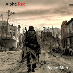 Cover of track Peace Man by Alpha Red
