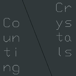 Cover of track Counting Crystals by Xavi