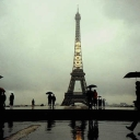 Cover of track Paris in the Rain by RelaxRockMusic