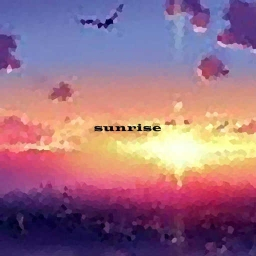Cover of track Sunrise by yuka