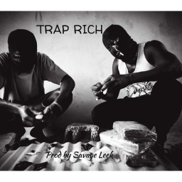 Cover of track Trap Rich instrumental by Savage Leek