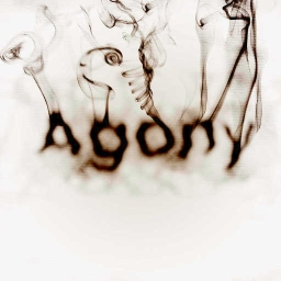 Cover of track agony (pain) by ABADDON
